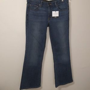 Calvin Klein NWT regular fit flared jeans